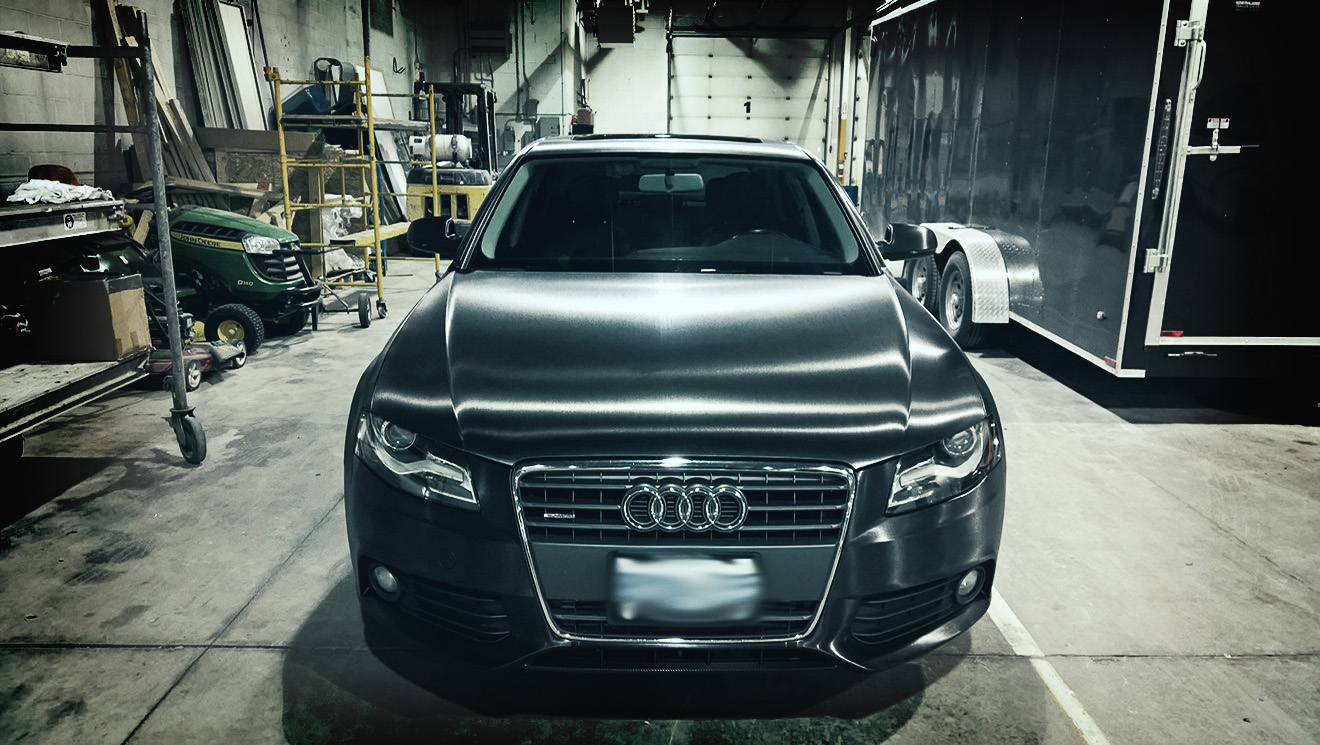 Audi A4 Brushed Black Metallic